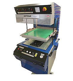 COPYRIGHT MAJOR VACUUM FORMING MACHINE