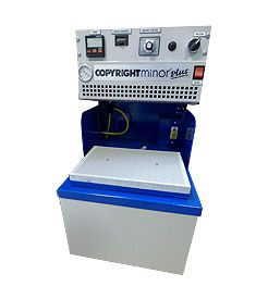 COPYRIGHT MINOR VACUUM FORMING MACHINE