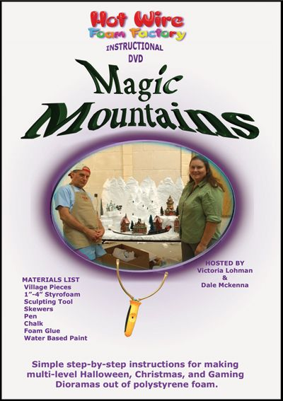 Hot Wire Foam Factory Magic Mountains Instructional DVD