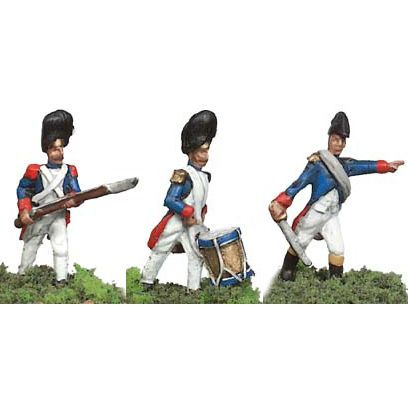 Prince August Metal Casting Moulds Soldiers Treble -French Imperial Guard Grenadiers PA531