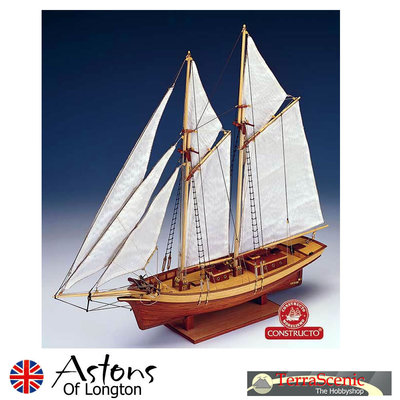 Wooden Ship Boat Kit Carmen By Constructo 1:80 scale, 80703